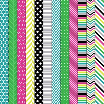 Livy Jumbo Set Digital Papers