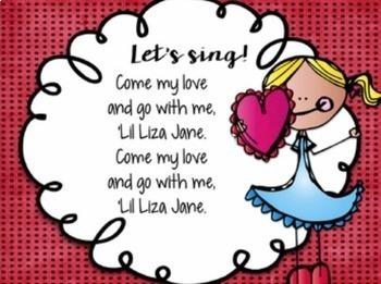 Liza Jane {Slideshows and Worksheets}
