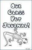 Lizard Class Pet Journal