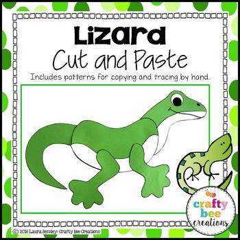 Lizard Cut and Paste