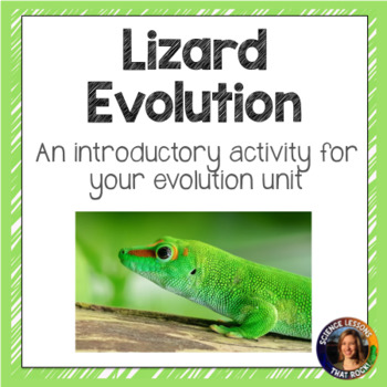Lizard Evolution- An introductory evolution activty