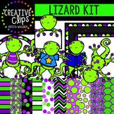 Lizard Kit {Creative Clips Digital Clipart}