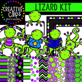 Lizard Kit {Creative Clips Digital Clipart}