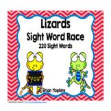Lizard Sight Word Race