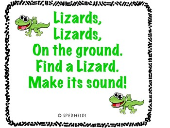 Lizard Sounds