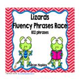 Lizards Fluency Phrases Race