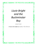 Lizzie Bright and Buckminster Boy Novel Unit Plus Grammar