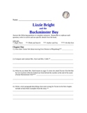 Lizzie Bright and the Buckminster Boy Comprehension Questions