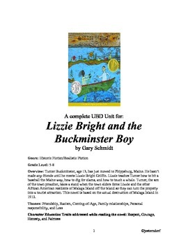 Lizzie bright and the buckminster boy teaching resources teachers lizzie bright and the buckminster boy ubd novel unit fandeluxe Images