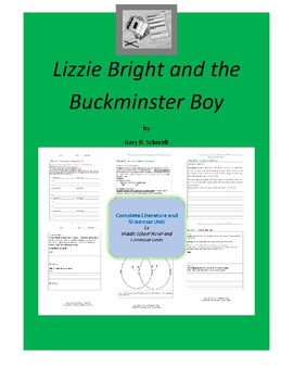 Lizzie Bright and the Buckminster Boy  Literature and Grammar Unit