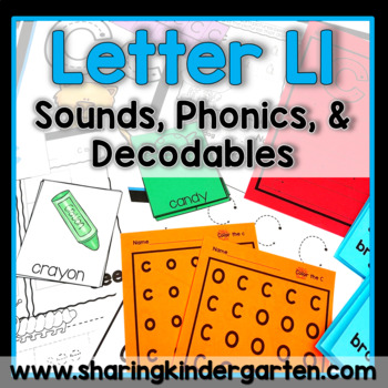 Letter Ll {Print & Play Pack}