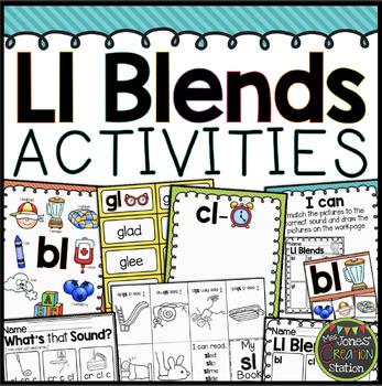 PHONICS Ll BLENDS ACTIVITIES