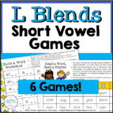 Ll Blends in Short Vowel Words One Page Games
