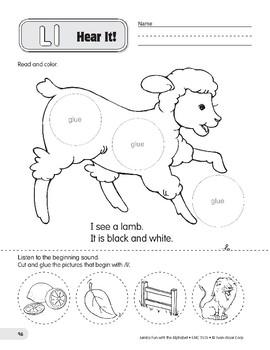 Ll: Lamb, Lion