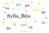 Super Bundle 25 Slideshows Spanish Open Syllables SyllaBits Silabas Abiertas