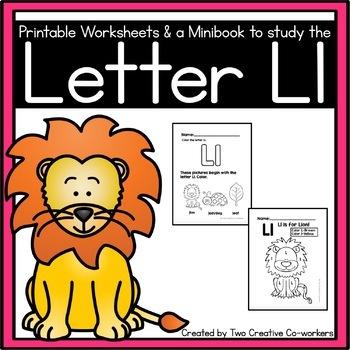 Letter L { Alphabet Practice }
