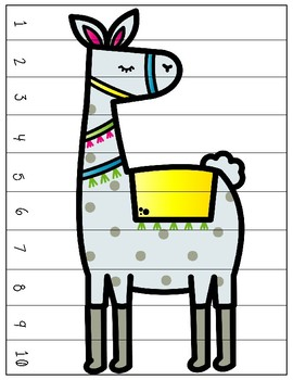 Llama 1-10 Sequence Puzzles