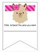 Llama Achievement Certificates