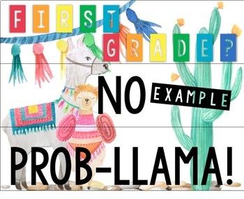 Llama Back-to-School Lightbox Inserts + Template