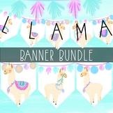 Llama Banner Bundle by Taracotta Sunrise