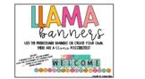 Llama Banners