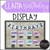 Llama Birthday Display- Classroom Decor