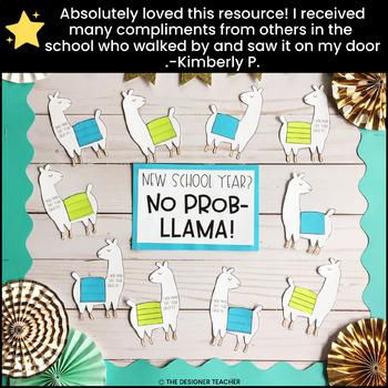 Llama Bulletin Board | Back to School Bulletin Board