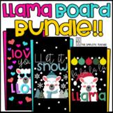 Llama Bulletin Board Door Decoration Growing Bundle!