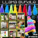 School Counseling Activities Bundle with a Llama Theme