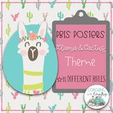 Llama & Cactus PBIS Posters