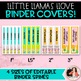 Llama, Cactus, & Shiplap Binder Covers and Spines {EDITABLE}