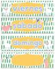 Llama & Cactus Theme Calendar Bundle