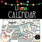 Llama Calendar Builder