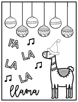 Printable Coloring Pages Llama - Free Printable Coloring ...