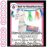 Llama Classroom  Decor - Classroom Helpers