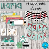 Llama Classroom Decor *Growing Bundle*