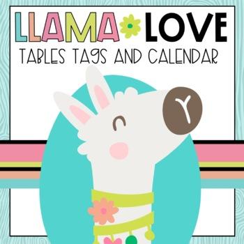 Llama Classroom Decor Set