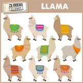 Llama Clip Art Llama clipart Alpaca clipart Cute Llamas clip art