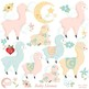 Llama Clipart, Alpaca Clipart, Baby Llamas { Best Teacher Tools } AMB-2266