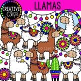 Llama Clipart {Creative Clips Clipart}