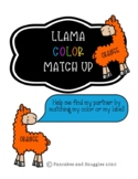 Llama Color Match Up