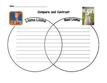Llama Compare and Contrast
