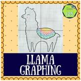 Llama Coordinate Plane Picture