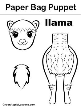 Llama Craft   Llama Activity   Llama Decor   Llama Classroom Decor