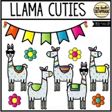 Llama Cuties (Clip Art for Personal & Commercial Use)