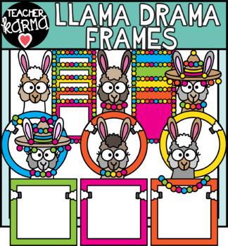 Llama Drama Frames