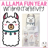 Llama End of Year All About Me Craftivity - Llama Bulletin Board