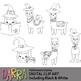 Llama Halloween Clip Art