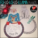 Llama Holiday Craft