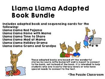 Llama Llama Adapted Book Bundle